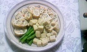 信田巻と高野豆腐の煮物