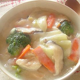 鶏肉と白菜のクリームシチュー