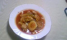 鶏肉のレモン煮