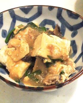 豆腐の中華風あんかけ